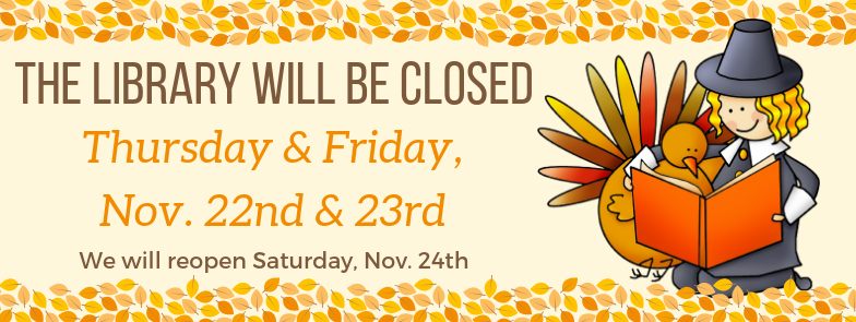 Closed Thanksgiving 2018 - WEB