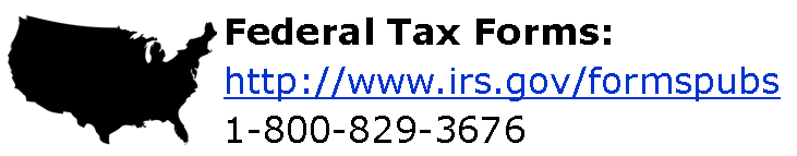Tax forms - Federal